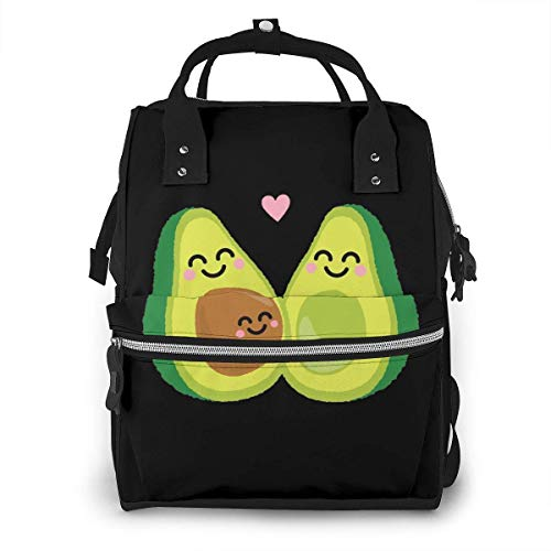 Mooie Avocado luiertas Mode Waterdichte Multi-Functie Reizen Rugzak Grote luiertassen Mummy Rugzak voor Baby Zorg