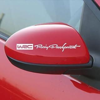 ONLINEMART RACING DEVELOPMENT WRC AUTO REAR VIEW MIRROR CAR STICKER