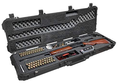Case Club Sporting & Hunting Shotgun Pre-Cut Waterproof Case with Accessory Box and Silica Gel to Help Prevent Gun Rust (Gen 2)