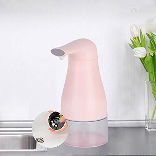 YYXA 250ml Automatische Schaumseifenspender Infrarot-Bewegungs-Sensor-wasserdicht Und Auslaufsicher Berührungslos Schaumseifenspender Pink