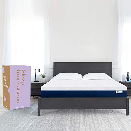 Sleep Innovations Marley Queen 12 Inch Cooling Gel Memory Foam Mattress in a Box - Made in USA -...