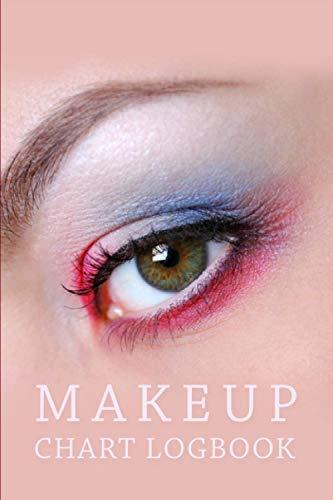 Makeup Chart Log Book: MakeUp NoteBook Journal | Makeup Templates for Makeup Artists White Model | Makeup Artist Sculpt and Shape Charts | Makeup ... and Plan their Designs For Female or Girls