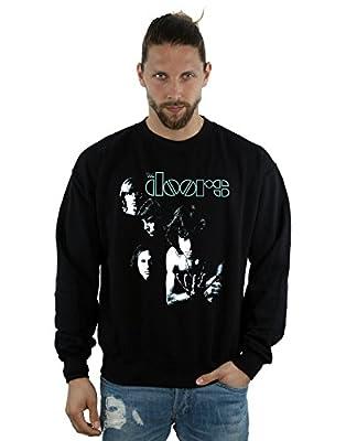 The Doors Men's Light Photo Sweatshirt X-Large Black