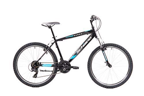F.lli Schiano Range Bicicleta MTB, Hombre, Azul Negro, 26''