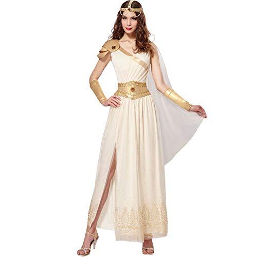 Chaks Disfraz de Mujer Diosa Griega Aurora (M) Vestido Antiguo Carnaval