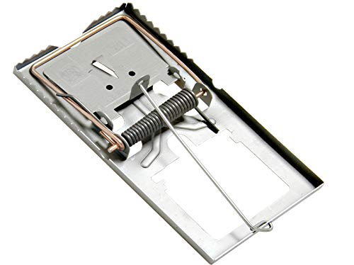 5 Stück Rattenfalle Stahl verzinkt