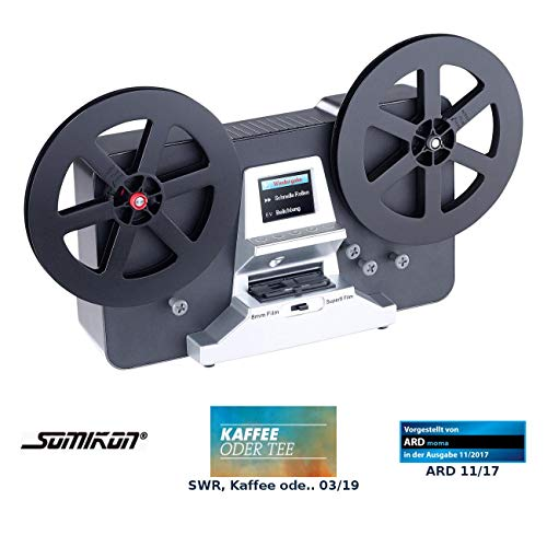 Somikon Filmscanner: HD-XL-Film-Scanner & -Digitalisierer für Super 8 & 8 mm, bis 7'-Rollen (Super 8 Filmscanner)
