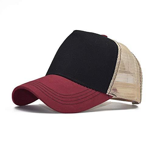 GorrasDeHombre Sombreros Trucker Mesh Cap Streetwear Gorras Faciales para Hombres Mujeres Sombrero...