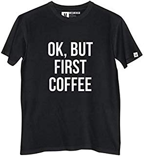 Camiseta Coffee Unissex 100% Algodão