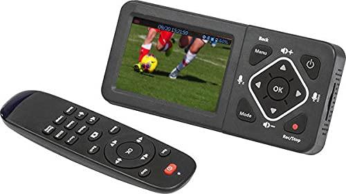HD60-ITA Box Acquisizione Video + Game Live Streaming da Sorgente RCA HDMI PC VHS DVD Hi8 Video 8 Console Xbox PS. Registra senza PC in Full HD 1080p H264 su Sd Card Pen Drive Hard Disk. Display 3,5