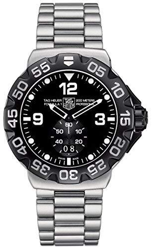 TAG Heuer WAH1010.BA0854 - Reloj de Pulsera Hombre, Acero Inoxidable, Color Plata