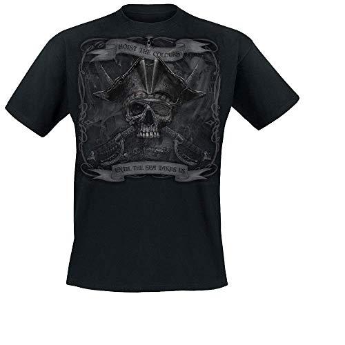 No Brands Required - Until The Sea Takes Us, T-Shirt, Farbe: Schwarz, Größe: XL