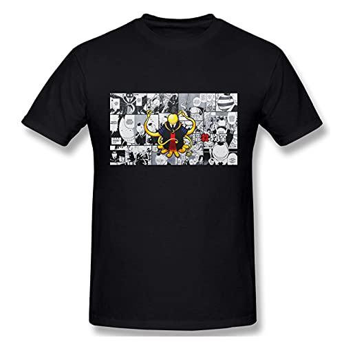 huatongxin Hombres 3D Anime Camisetas Asesinato Aula Korosensei Camisetas de Manga Corta