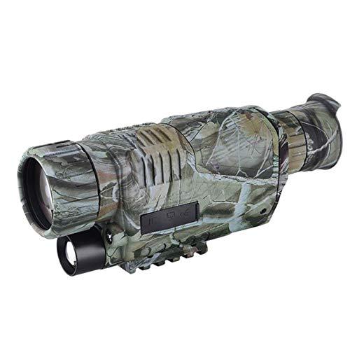 ZSJZSJ Nachtsichtgerät 5X40 Nachtsichtgerät Infrarot-IR-Kamera HD Digitales Nachtsichtgerät mit TFT-LCD-Display Foto- und Videowiedergabefunktion für die Sicherheit bei der Jagd Surveilla
