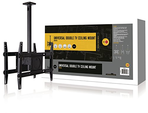 OmniMount DCM250 Dual Ceiling Mount for 32-Inch to 65-Inch TVs