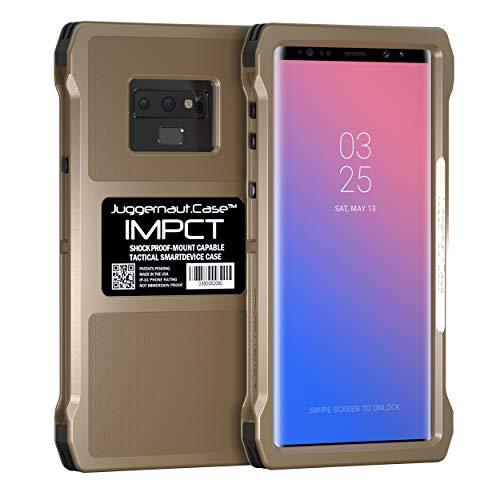 Juggernaut.Case - Note 9 IMPCT - Military Grade, Tactical Smartphone Phone Case, Made in USA - Flat Dark Earth