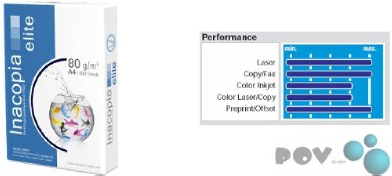POV® Inacopia elite A4 80 Gramm (25.000 Blatt) B00BN5V4OC    | In hohem Grade geschätzt und weit vertrautes herein und heraus