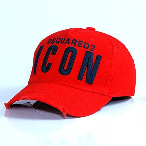 GKRY Baseball Cap,Snapback,Trucker Cap,Mütze,Golf Sport Outdoor Kappe Hat Höhepunkt des Baseball Cap Männer hat, Red