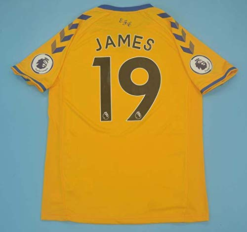 FM James Rodriguez#19 Jersey 2020-2021 Full Premier Patch Yellow Color (L)