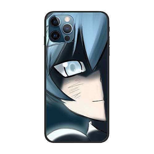 Black Case for Apple iPhone 12 Pro MAX, Assassination-Classroom 6 Coque Silikon Thin Soft Matte Rubber Anti-Slip