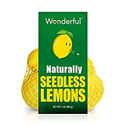 Wonderful Seedless Lemons 1lb Bag, 16 Oz
