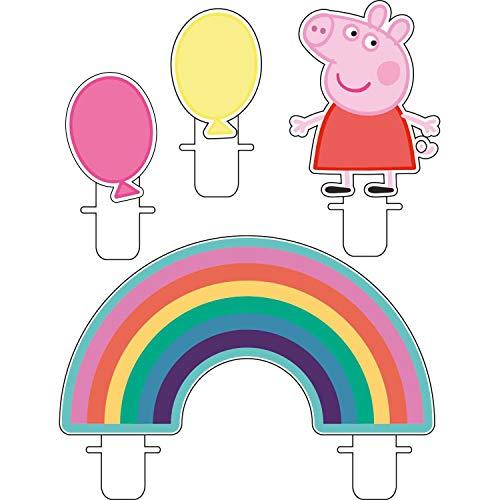 Amscan 9906339 Peppa Pig - Velas pequeñas