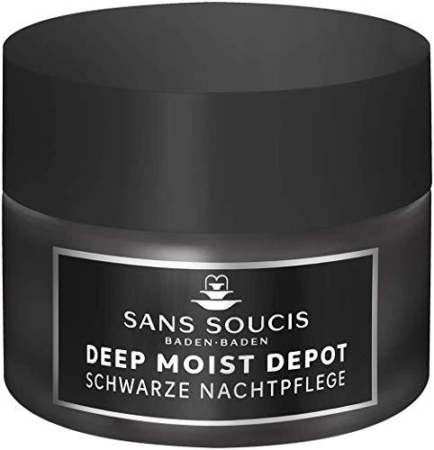 Sans Soucis Deep Moist Depot - schwarze Nachtpflege - 50 ml