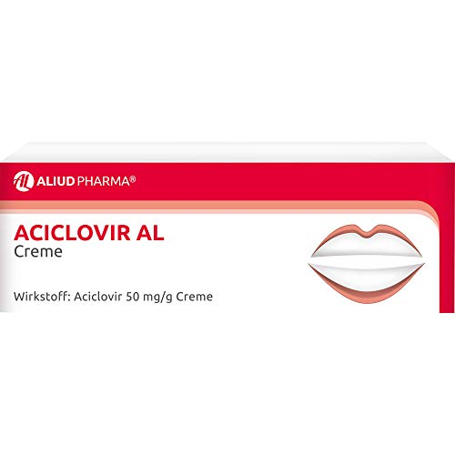 Aciclovir AL Creme Virustatikum, 2 g Creme