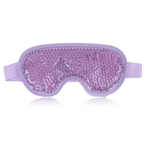Augenmaske Kühlend Gel Augen Kühlmaske Kühlpads Kühlbrille für Die Augen, Migräne,...