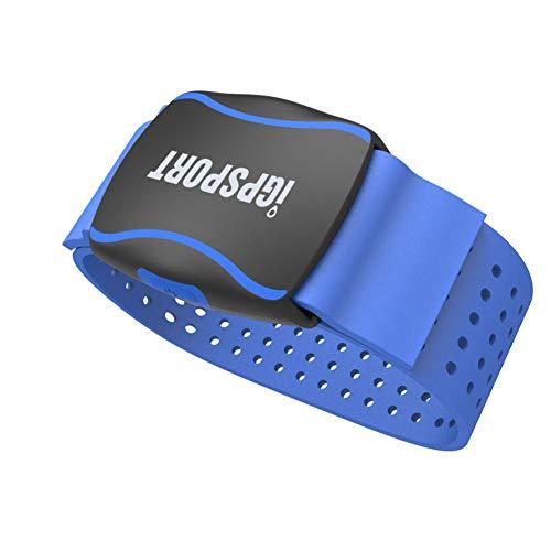 iGPSPORT Waterproof Armband cardiofrequenzimetro, HR60 fotoelettrico frequenza cardiaca Bracciale Sensore con Ant + Computer/Supporto Bluetooth della Bici