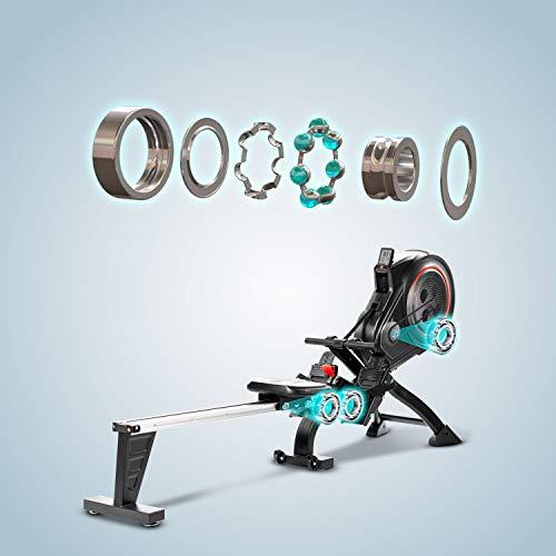 AsVIVA RA14 Rudergerät Magnetic Rower Sieger unter 500 Euro Bild 3*