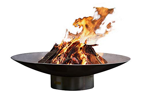 Find Discount Fire Pit Art Bella Vita 34 Inch Liquid Propane Fire Pit Bowl Outdoor Patio Furniture S...