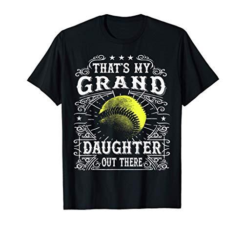 Vintage Softball Grandpa and Grandma Gifts Shirts T-Shirt