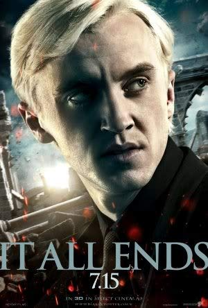 Harry Potter and The Deathly Hallows Part 2 – Movie Wall Poster Print – A4 Size Plakat Größe Draco Malfoy