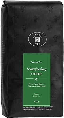 Paulsen Tee Grüner Tee Darjeeling FTGFOP 1000g, rückstandskontrolliert & zertifiziert
