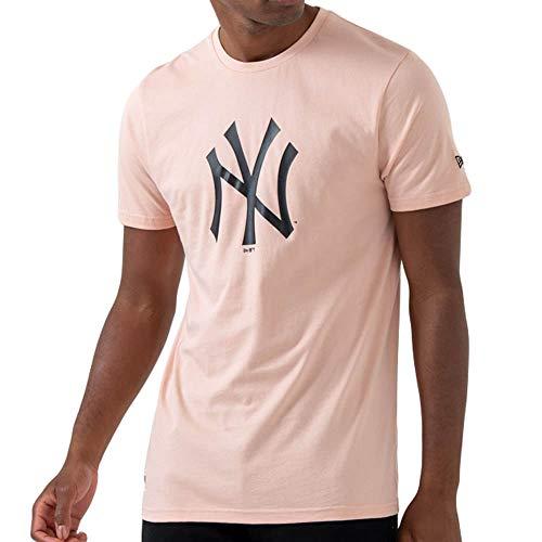 New Era Herren MLB Seasonal Team Logo Unterhemd, Rosa, XS