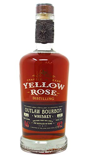Yellow Rose - Black Label Outlaw Bourbon Pot Distilled - Whisky