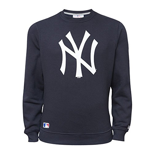 New Era Ne92232Fa15 Nos Crew Neyyan Sudadera Línea York Yankees, Hombre, Azul (Nvy), XS