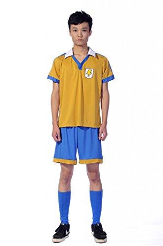 Eleven Mtxc para hombre media de Inazuma camiseta de ftbol para Raimon GO escuela Cosplay