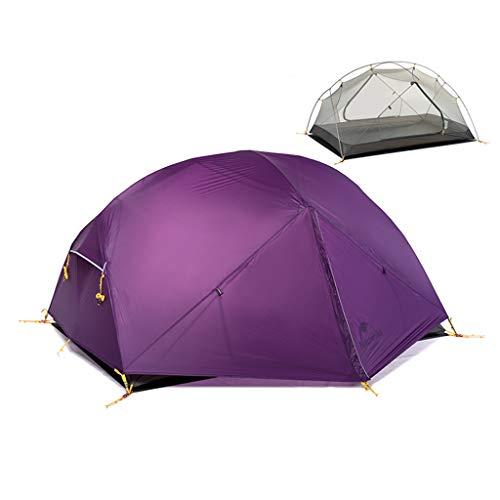 LXF JIAJU Carpas Carpas para Camping Coleman Carpa Doble Carpa Doble tormenta de Lluvia Tres Estaciones Poste de Aluminio Carpa para Acampar al Aire Libre Senderismo Tienda de campaña