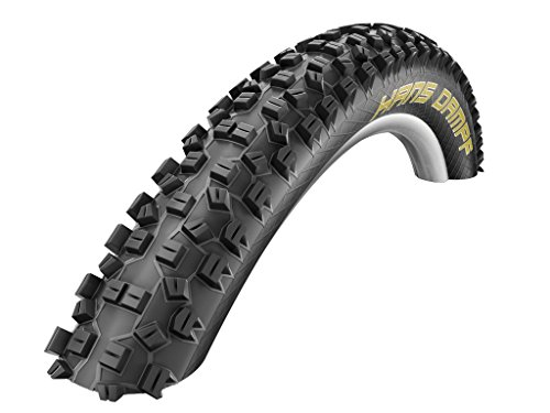 SCHWALBE Hans Dampf Evolution Line Tire with Trail Star Compound, 26 x 2.35-Inch