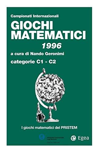 Giochi matematici 1996: Cateorie C1 - C2
