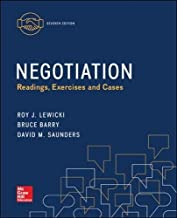 Best negotiations readings exercises and cases Reviews