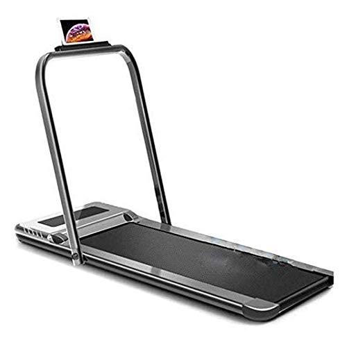 UIZSDIUZ Rodante Caminar Correr Espacio de la máquina eléctrica de Ahorro de Fitness for el hogar con Smart App con Control Remoto Compacto Steppers portátil Equipo de la Aptitud