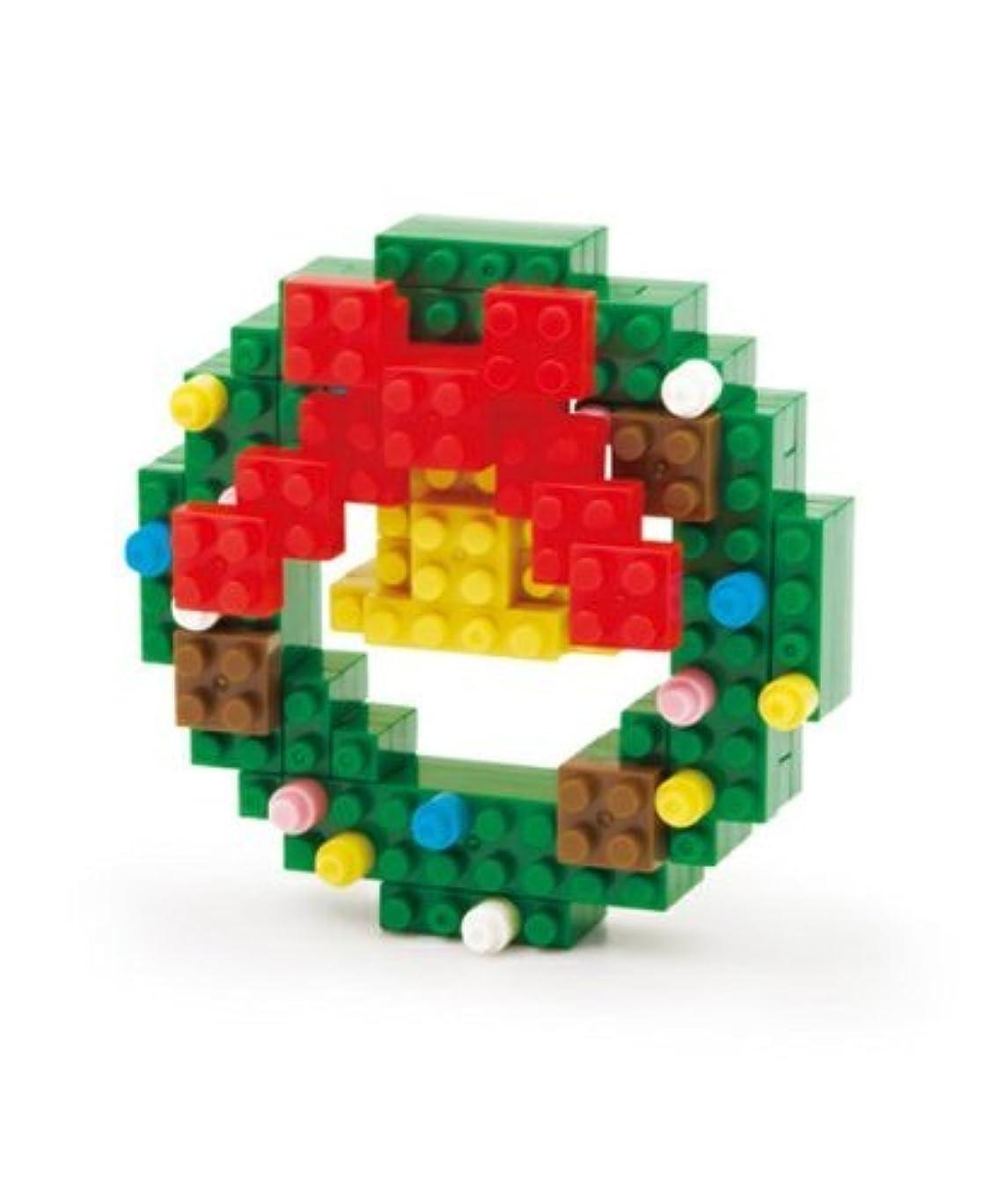 遠洋の知恵罪人nanoblock クリスマスリース 2012X'mas 【George's 限定】 ナノブロック