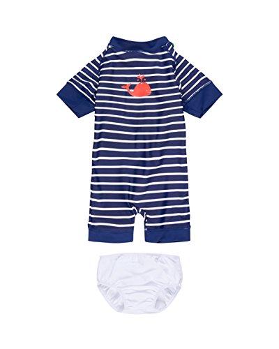 Fred´s World By Green Cotton UV Badeanzug, Kinder, 104-110, Marineblau