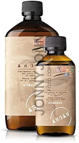 Argan Nashi Shampoo per Tutti i tipi Di Capelli Nutriente e Ammorbidente - 500ml