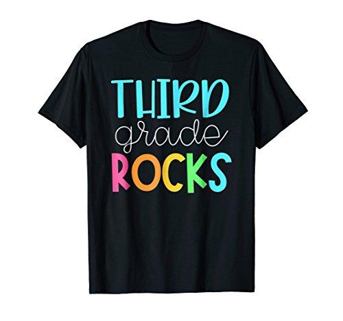 Third Grade Teacher Team Shirts - 3rd Grade Rocks