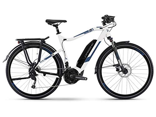 Haibike Sduro Trekking 4.0 Pedelec E-Bike Fahrrad weiß/blau 2019*
