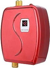 Kleine elektrische boiler, 3800 W mini doorstroomboiler met LCD-display, constante temperatuur elektrische hete tank warmw...